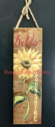 The image for Hello Sunshine Fence Board Homestyles Show Painting Class ($30+tx total price)
