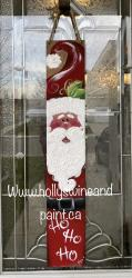 The image for Santa fence post deposit ($30 due at class) $45 total