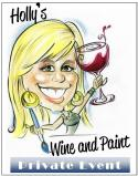 The image for Private Wine and Paint Class!